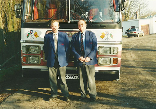 Stephensons Coaches - Michael and Mark Stephenson